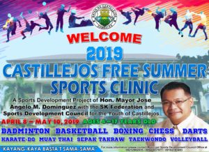 Castillejos Free Summer Sports Clinic