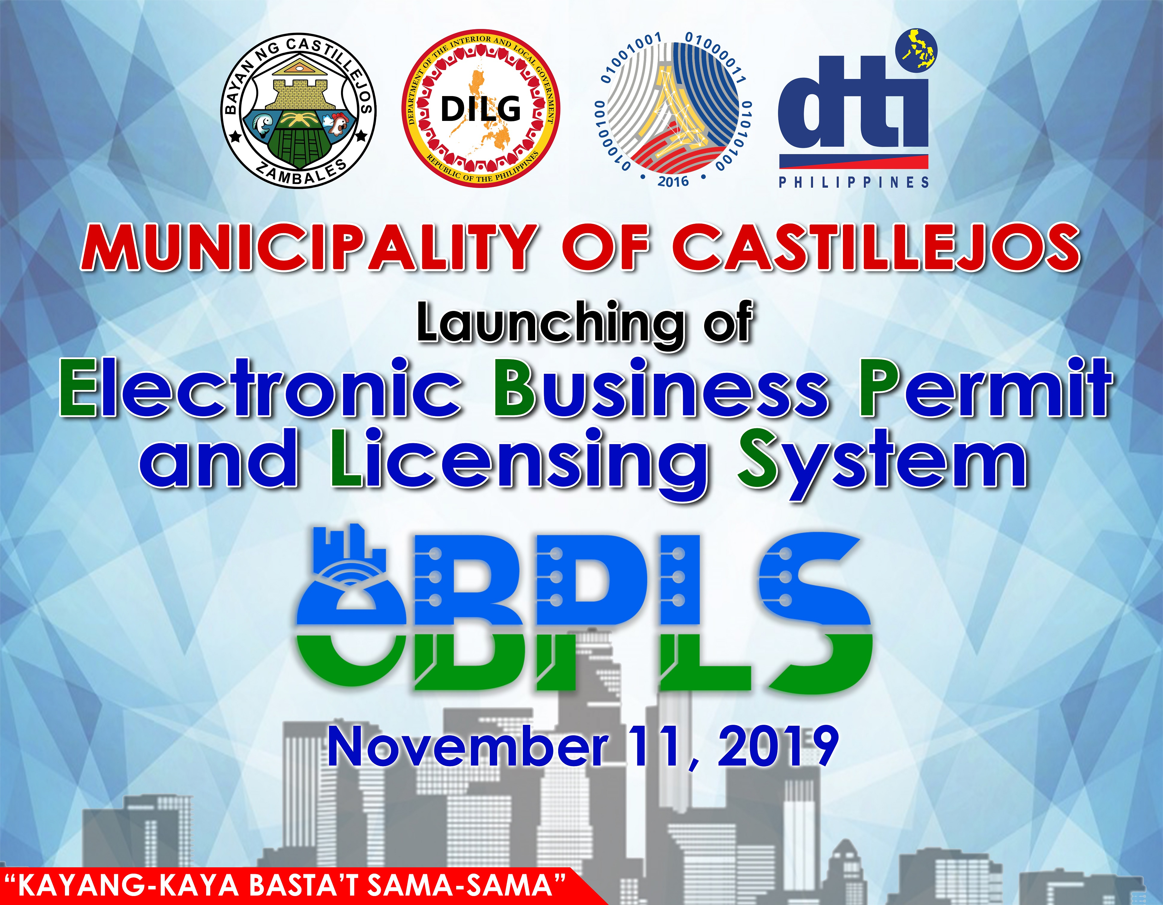 Launching of the Electronic Business Permit and Licensing System (eBPLS)