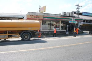 Disinfection of Public Roads
