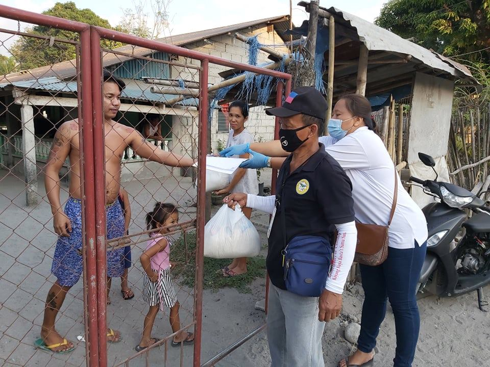 Distribution of Relief Goods in Brgy. San Pablo