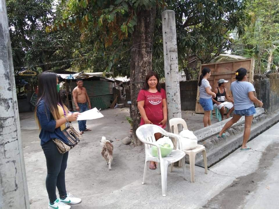 Distribution of Relief Goods Brgy Magsaysay March 29, 2020