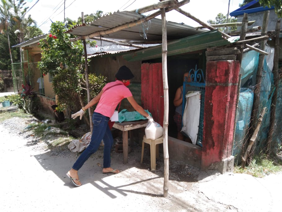 Distribution of Relief Goods Brgy. Del Pilar March 27, 2020