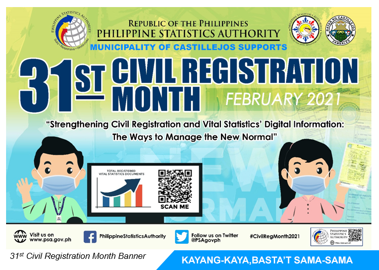 The Municipality of Castillejos Supports the 31st Civil Registration Month